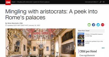 Mingling with aristocrats: A peek into Rome's palaces